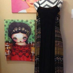 NWT boho maxi dress.